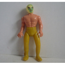 Mil Mascaras - Luchador Plastico Inflado - Muñeco De Juguete