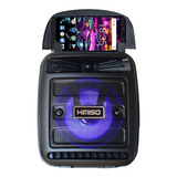 Bocina Kimiso Kms-1181 Portátil Con Bluetooth Negra