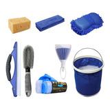 8pie Kit De Limpieza Para Coche Cepillo Para Lavar Carros