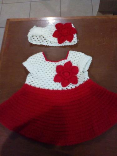 Vestido Crochet Para Bebe De 0 4 Meses En Venta En San