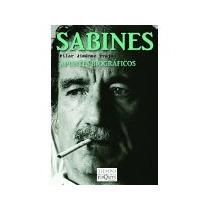 Libro Sabines Apuntes Biograficos *cj