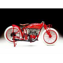 Lienzo Tela Motocicleta Indian, 65 X 90 Cm, Poster