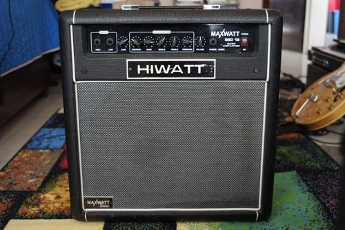 Hiwatt B60 12 (amplificardor Bajo 60watts 12 ) Ampeg Fender