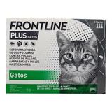 Caja De 3 Pipetas Frontline Plus Gatos