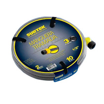 Manguera Tramada Gris 1/2¨ 10m Conector Plástico M12t10p Vv4