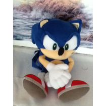 Mochila Peluche Sonic The Hedgehog
