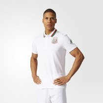 Playera Polo Anthem Adidas Seleccion De Mexico