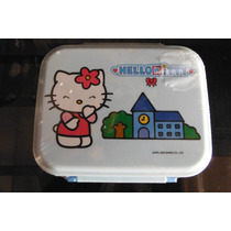 Contenedor De Comida Sanrio Hello Kitty Lonchera Bento Box