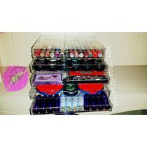 Cajonera Acrilico 5 Organizadores Maquillaje Cosmeticos Mac