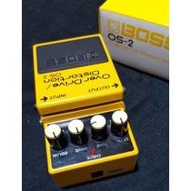 Boss Os-2 Overdrive Distortion Pedal Guitarra Hard Metal
