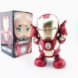 Jugete Robot Iron Man Bailador Avengers Envio Express Gratis