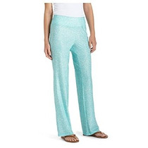 Coolibar Upf Mujeres 50+ Aire Travel Pant - Protegerse Del S