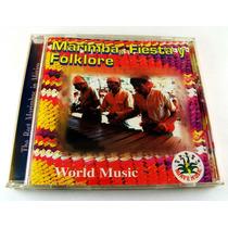 Marimba Fiesta Y Folklore Cd Como Nuevo Ed 1997 Agave Music.
