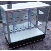 Vitrina Exhibidora Mostrador Cristal Aparadores 1 M