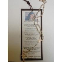 Recuerdo Aniversario Luctuoso Separador Con Rosario Virgen