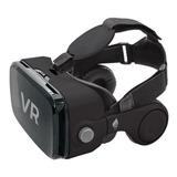 Lentes  Realidad Virtual 3d Con Audífonos Control Gvr-2030