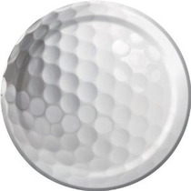 Golf Fanatic 7 Postre Pastel Placas (8 Ct)