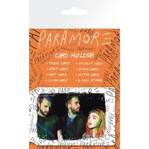 Tarjeta De Paramore Holder - Grupo 10x7cm Mercancía Oficial