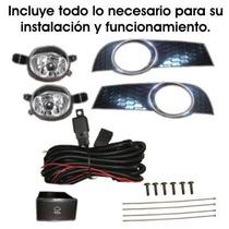 Kit Completo Faros De Niebla Para Chevrolet Aveo 2015 Y 2016