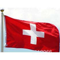 Bandera De Suiza 150x90cm. Banderas Del Mundo Y Temáticas.