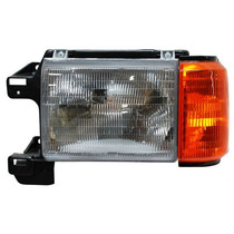 Faro Ford Pick Up 87-88-89 S/cromo C/base C/cuarto Derecho
