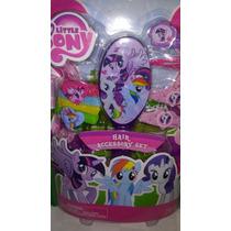 Set De Accesorios Para Cabello My Little Pony! Importado
