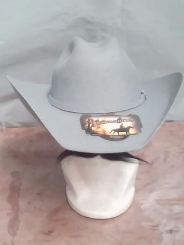 7c2779df96035 Sombrero Texano Gris Unisex Chihuahua Envío Gratis