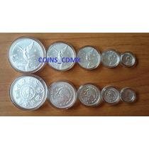 Coleccion 5 Monedas Plata Libertad 2016 Nuevas Encapsuladas