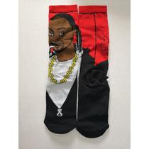 b73bb67c80d9b Calceta Larga Hip Hop Notorious Big Tupac Snoop Dogg 3 Pares en ...