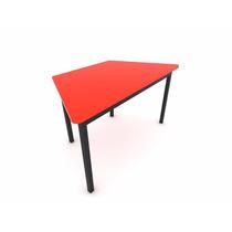 Mobiliario Escolar Mesa Trapezoidal Infantil