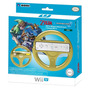 Volante Wii Wheel Mario Kart 8 Dorado Hori Nintendo Original