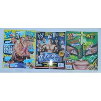 3 Revistas De Lucha Libre Wwe John Cena Wrestlemania Xxviii