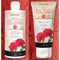 Shampoo Y Mascarilla Tsubaki Kinworks Aceite De Camelia