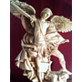 Envio Gratis Arcangel San Miguel Resina Patinado Antiguo