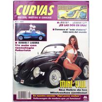 Revista Curvas # 29 Autos Motos Y Chicas Con Poster