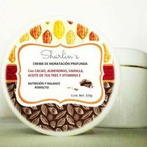 Crema Corporal Orgánica De Cacao C/ Vainilla Sharlin´s