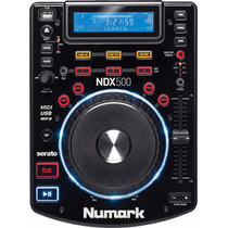 Numark Ndx500 Cd Player Mp3 Usb Controlador Serato
