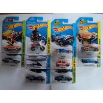 Hot Wheels Set 10 Piezas Batman Datsun Moto Mini Lamborghini