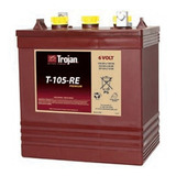 Bateria Trojan T-105-re 6 Volt 225 Amperios Battery Master