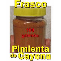 Frasco Pimienta De Cayena Cayene 100 Gr Aji Chile Pimiento