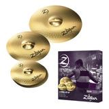 Pack Paquete 4 Platillos Zildjian Planet Z Plz4pk