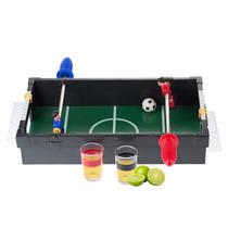 Juego De Futbolito Para Juegos De Bar Con 2 Shots Fut H1234