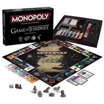 Monopoly Edición Especial Game Of Thrones Colección Juego