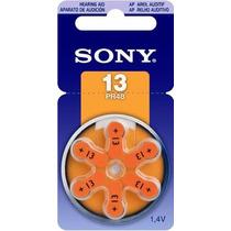 Bateria Pila Para Aparato Auditivo Sony C/6 13 Pr48