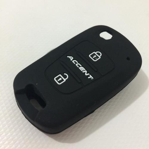 Funda De Silicon Llave Hyundai Accent Elantra Sonata Attitud Foto 1
