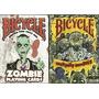 2 Mazos De Cartas Poker Bicycle Zombie Y Everyday Zombies