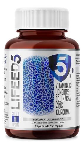 Lifeed Inmune Con Vitamina C Jengibre Equinacea Zinc Curcuma