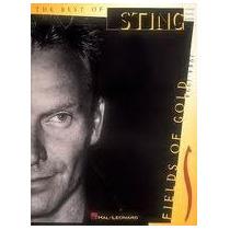 Sting Partitura Piano Guitarra Vocal Exitos Fields Of Gold