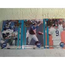 Gigantes De New York Cartas De Futbol Americano 1990