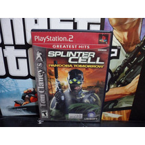 Splinter Cell Pandora Ps2